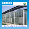 Glass Greenhouses with Ventilation System