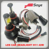 LED Car Headlight 42W H4/H7/H8/H11/9005/9006