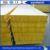 Rock Wool / Glass Wool / EPS / PU Sandwich Wall Panel Roof Panel for Prefab House