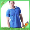 Blue Popular Men′s Cotton Polo Shirts