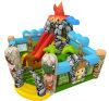 Cartoon Design Inflatable Amusement Park Fun City Inflatable Playground
