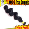 Loose Wave 8A Brazilian Jet Black Hair Pieces