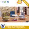 Modern Steel Metal Base Fabric Upholstery Leisure Chair (HX-SN8010)