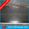 Chevron Ribbed Height 15mm Rubber Conveyor Belt