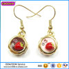 Guangzhou Boosin Crystal Fashion Jewelry 3D Earring#21456