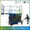 6m-12m Electric Self Propelled Scissor Lift Platform Aerial Lift