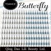 Lilibeauty 0.07 4D Butterfly Pre Fanned Volume Lashes Russian Fans Eyelash Extensions