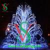 3D Large Outdoor christmas Festival Decoration Fourtain Light