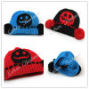 (LKN14021) Winter Fashion Promotional Earflaps Knitted Hats