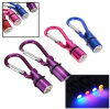 Dog Pet Aluminum Waterproof Safety Flashing LED Collar Tag Light