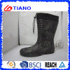 Men Snow Boots with Printing with Fleece Lining (TNK60021)
