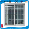 Exterior Sliding Aluminum Window with Grill