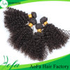 7A Double Weft Brazilian Kinky Curly Human Hair