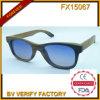 FX15067 Handmade Skateboard Bamboo Suctom Logo Wood Sunglasses