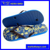 Simple Design Style Flower Print PE Girl Footwear Slipper