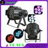 Ce RoHS Stage RGBW Flat Mini 7X12W LED PAR Light