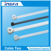 Natural Black Stainless Steel Barb Inlay Nylon Cable Ties