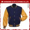 2017 Winter Customized Mens Leather Wool Bomber Jacket Wholesale (ELTBQJ-538)