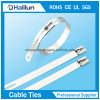 304 Steel Cable Tie Multi Barb Ladder Lock Type