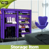 Home Bustproof Portable Non Woven Fabric Shoe Cabinet
