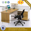Elegant Office Table MDF Workstation Office Partition (HX-6M198)