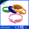 Silicone Bracelet Wrist Band USB 2.0 Flash Drive
