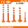 3 Types Base Traffic Assemble PU Flexible Delineator Post