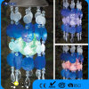 Stainless Steel Acryl Material, 1 PC Changing Color LED Solar Windchime Lighting