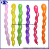 100PCS/Bag Wedding Kids Birthday Party Decoration Twist Spiral Latex Balloons