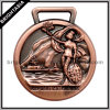 Antique Bronze 3D Sports Medal for Souvenir (BYH-10682)