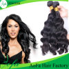 Silky Body Wave Natural Black Brazilian Virgin Human Hair
