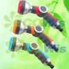 7 Pattern Metal Luxury Garden Pistol Nozzle Sprinkler (HT1357)