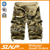 100% Cotton Camouflage Cargo Pants for Men