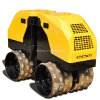 Remote Control Hydraulic Mini Road Roller with Perkins Engine