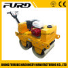 Honda Engine Double Drum Pedestrian Vibratory Roller