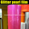 Popular New Color Pink Pearl Glitter Film