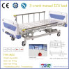 3-Crank 5 Functions Manual Hospital Bed