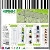 1 to 6 Layers Wire Mesh Locker Shelf