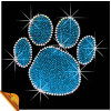 Wholesaler Animal Paw Print Design Rhinestone Transfer Designs (SP)