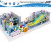 Children Indoor Castle with Plastic Slide (HC-22347)