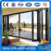 Sale Double Glass Garden Insulate Floding Door