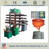 Rubber Tile Making Machine, Mixing Rubber Granule and Glue