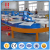 Automatic Carousel Multicolor Textile Automatic Oval Silk Screen Printing Machine