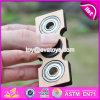 Top Fashion EDC Bearing Anti Stress Toy Children Wooden Spinner Fidget Toys W01b046
