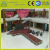 Indoor DJ Music Show Activity Event Aluminum Plywood Stage