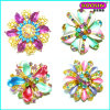 Fashion Enamel Flower Shape Gold China Wholesale Brooch