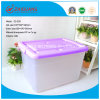 Hot Sale High Quality 120L Plastic Storage Box PP Material Heavy Duty Strong Plastic Bin with Handles and Wheels