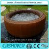 Computerized Whirlpool Massage Outdoor SPA Jacuzzi (pH050010 Brown)