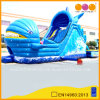 Inflatable Bouncer Slide with Water Pool Game (AQ139)