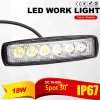 18W LED Work Light Waterproof (Warranty 1years)